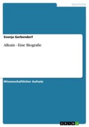 eBook Alkuin - Eine Biografie Cover