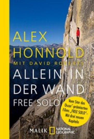 eBook Allein in der Wand - Free Solo Cover