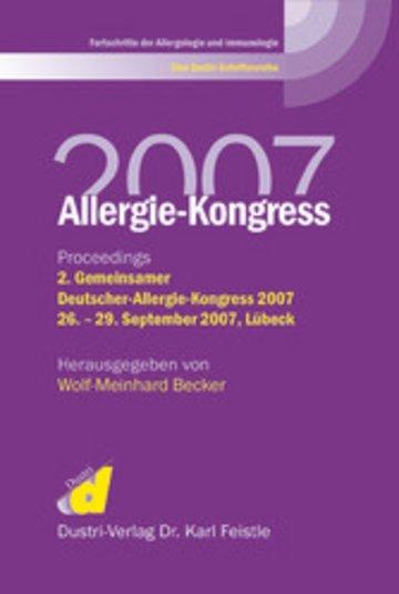eBook Allergie-Kongreß 2007 Cover