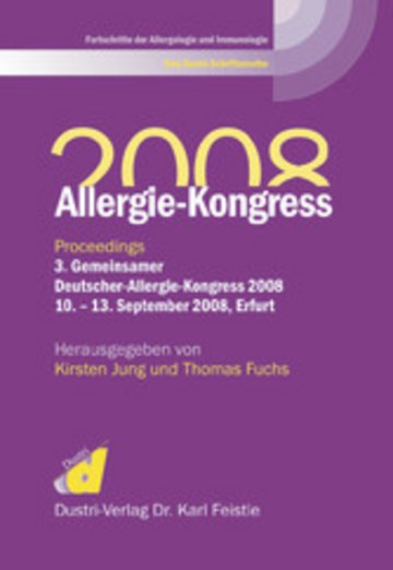 eBook Allergie-Kongress 2008 Cover