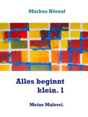 eBook Alles beginnt klein. 1 Cover