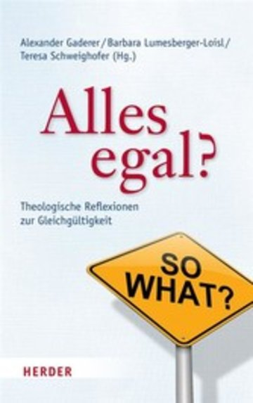 eBook Alles egal? Cover