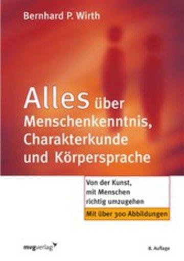 eBook Alles über Menschenkenntnis, Charakterkunde und Körpersprache Cover