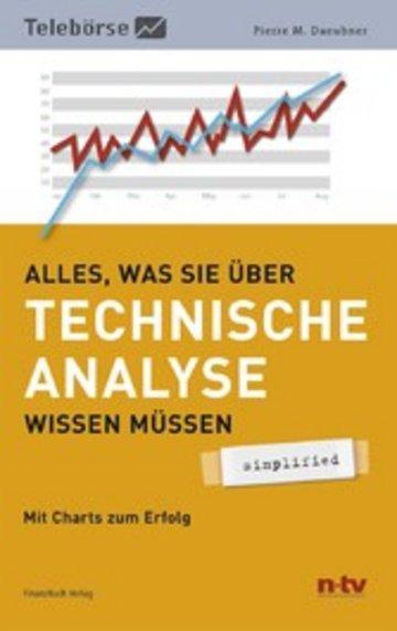 eBook Alles was Sie über Technische Analyse wissen müssen - simplified Cover