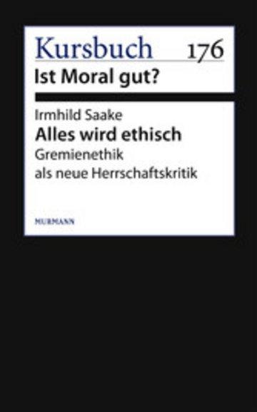 eBook Alles wird ethisch Cover