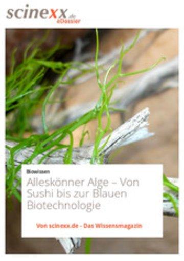 eBook Alleskönner Alge Cover