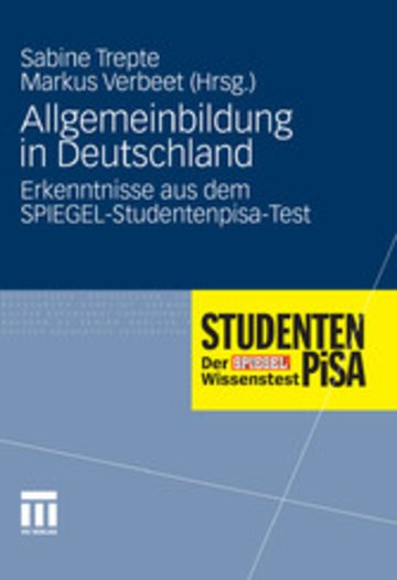 eBook Allgemeinbildung in Deutschland Cover