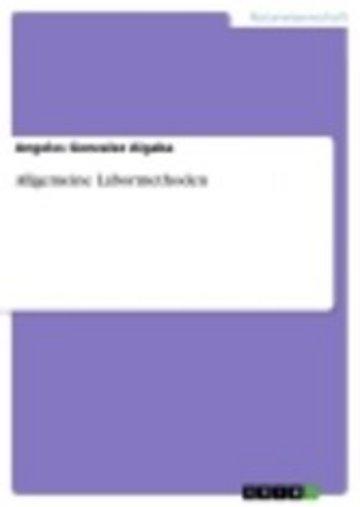 eBook Allgemeine Labormethoden Cover