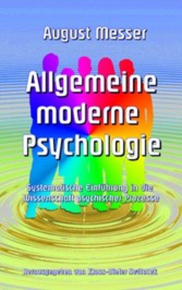 eBook Allgemeine moderne Psychologie Cover
