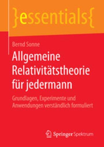 eBook Allgemeine Relativitätstheorie für jedermann Cover