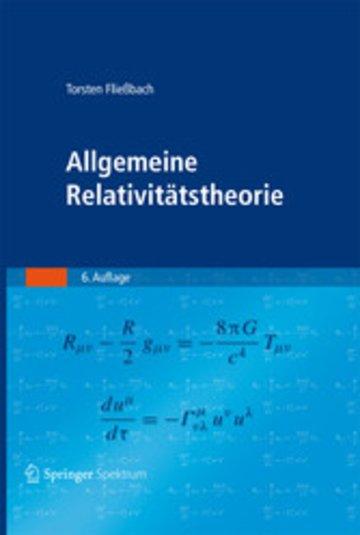 eBook Allgemeine Relativitätstheorie Cover
