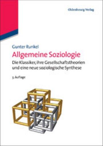 eBook Allgemeine Soziologie Cover