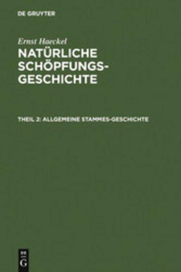 eBook Allgemeine Stammes-Geschichte Cover