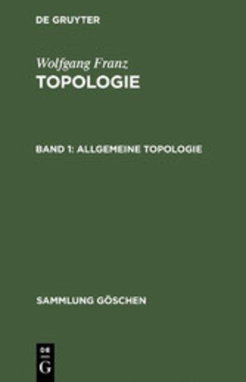 eBook Allgemeine Topologie Cover