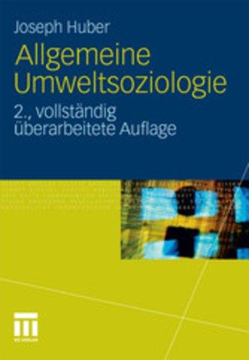 eBook Allgemeine Umweltsoziologie Cover