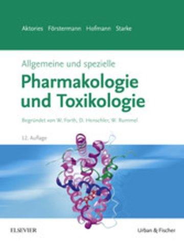 eBook Allgemeine und spezielle Pharmakologie und Toxikologie Cover