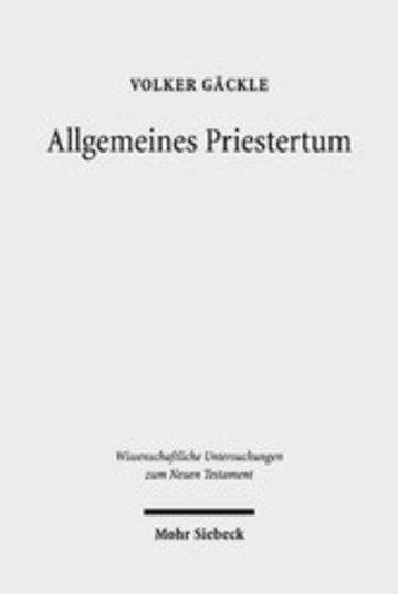 eBook Allgemeines Priestertum Cover