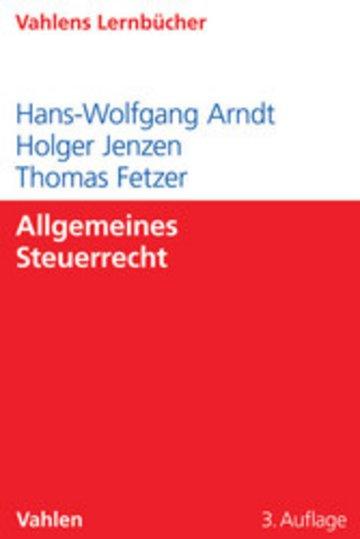 eBook Allgemeines Steuerrecht Cover