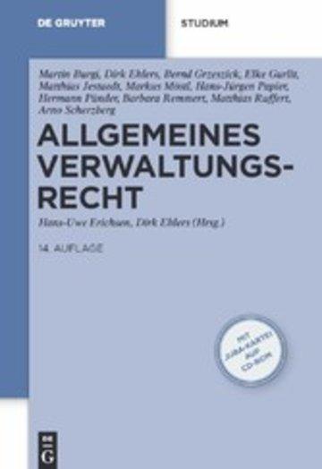eBook Allgemeines Verwaltungsrecht Cover