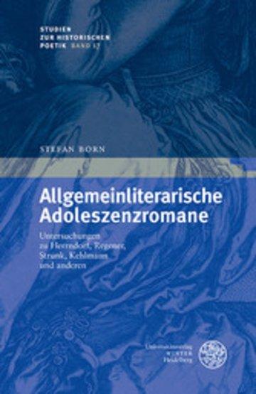 eBook Allgemeinliterarische Adoleszenzromane Cover