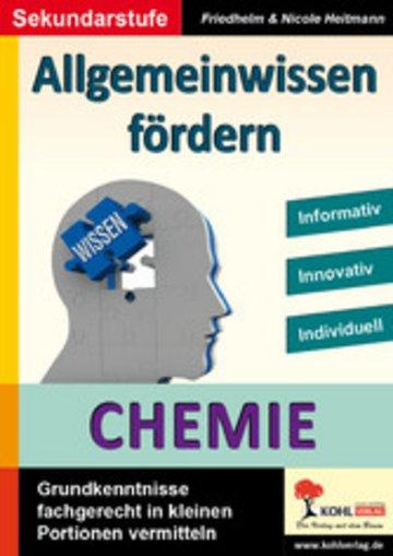 eBook Allgemeinwissen fördern CHEMIE Cover