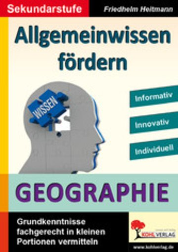 eBook Allgemeinwissen fördern GEOGRAPHIE Cover