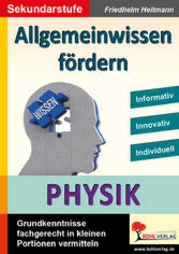 eBook Allgemeinwissen fördern PHYSIK Cover