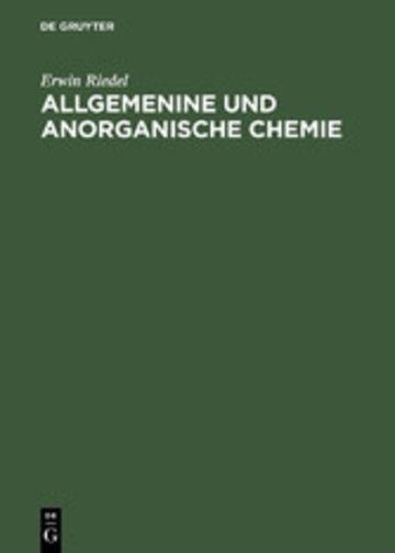 eBook Allgemenine und anorganische Chemie Cover