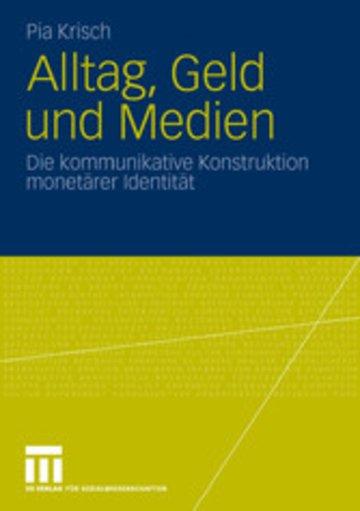 eBook Alltag, Geld und Medien Cover