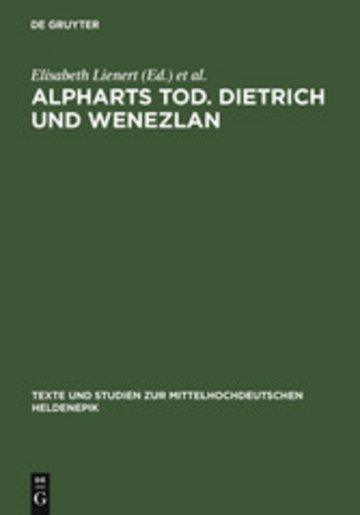 eBook Alpharts Tod. Dietrich und Wenezlan Cover