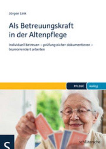 eBook Als Betreuungskraft in der Altenpflege Cover