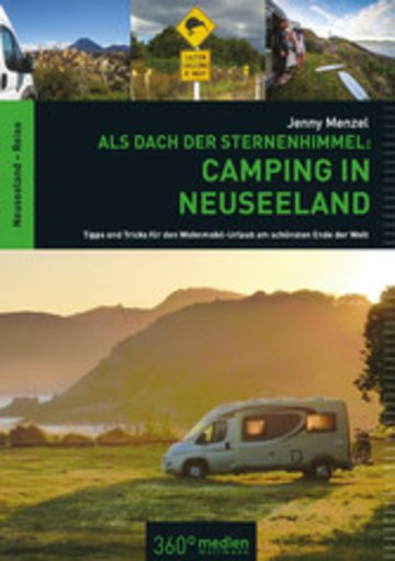 eBook Als Dach der Sternenhimmel - Camping in Neuseeland Cover