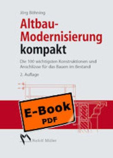 eBook Altbau - Modernisierung kompakt Cover