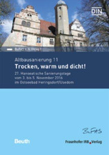 eBook Altbausanierung 11. Trocken, warm und dicht!. Cover