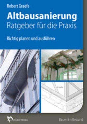 eBook Altbausanierung - Ratgeber für die Praxis - E-Book (PDF) Cover