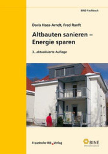 eBook Altbauten sanieren - Energie sparen. Cover