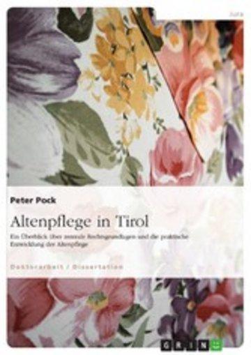 eBook Altenpflege in Tirol Cover