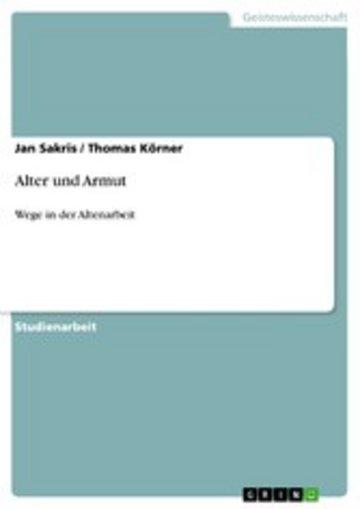 eBook Alter und Armut Cover