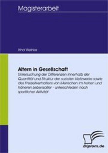 eBook Altern in Gesellschaft Cover