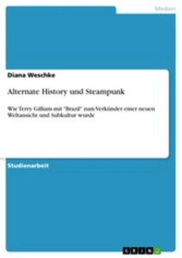 eBook Alternate History und Steampunk Cover