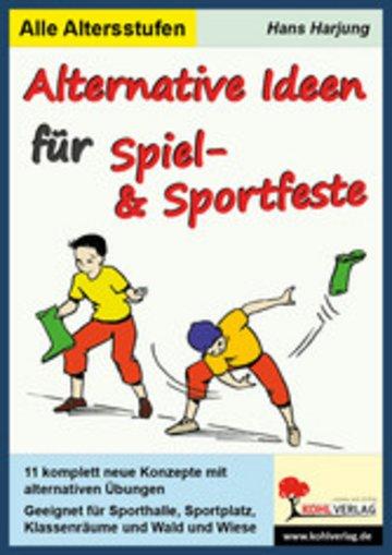 eBook Alternative Ideen für Spiel- und Sportfeste Cover