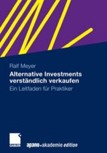 eBook Alternative Investments verständlich verkaufen Cover