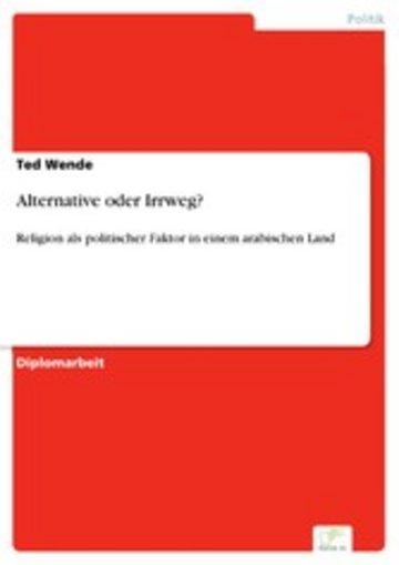 eBook Alternative oder Irrweg? Cover