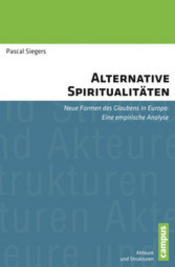 eBook Alternative Spiritualitäten Cover