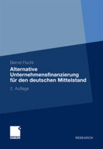 eBook Alternative Unternehmensfinanzierung für den deutschen Mittelstand Cover