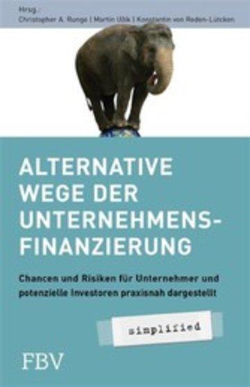 eBook Alternative Wege der Unternehmensfinanzierung Cover