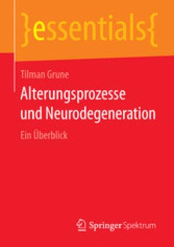 eBook Alterungsprozesse und Neurodegeneration Cover