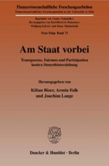 eBook Am Staat vorbei. Cover