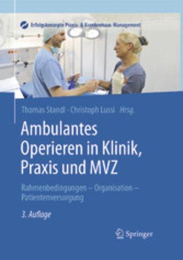 eBook Ambulantes Operieren in Klinik, Praxis und MVZ Cover