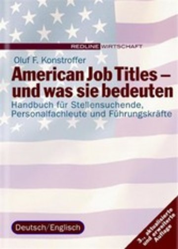eBook American Job Titles - und was sie bedeuten Cover
